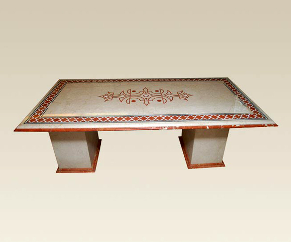 Dining Table With Inlay